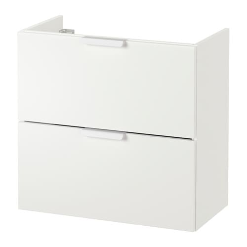 Ikea Glasvitrine Beleuchtung ~ IKEA GODMORGON wash stand with 2 drawers Smooth running and soft