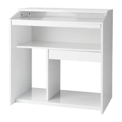 GOLIAT Computer table, white, 79x50 cm