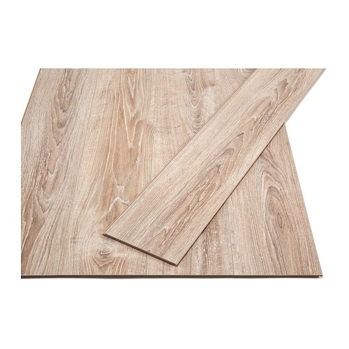 GOLV Laminated flooring IKEA Laminated surface; a hardwearing floor, suitable for use in any area of the home except wet rooms.