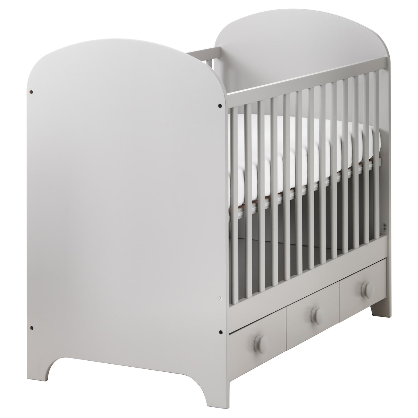 Perfekt IKEA GONATT Cot The Cot Base Can Be Placed At Two Different Heights.