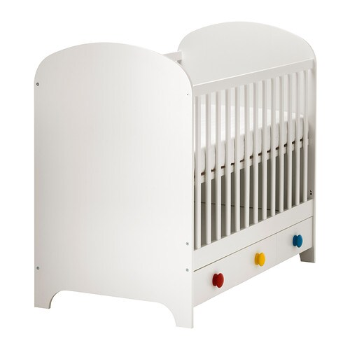 ikea gonatt cot the cot base can be placed at two different heights - Lit De Bebe Ikea