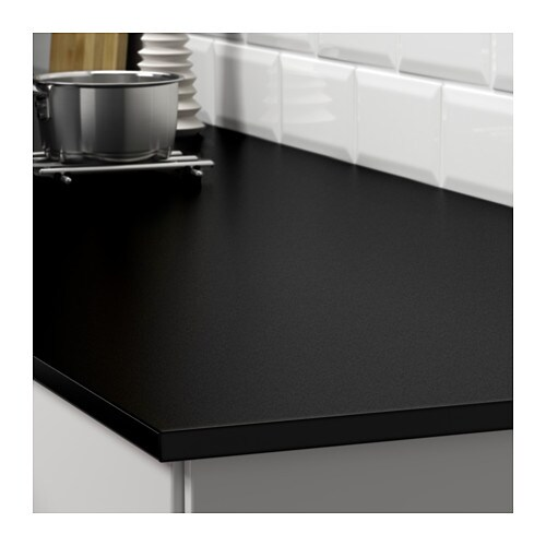 gottsk r worktop double sided white black with black edge 186x1 8 cm ikea. Black Bedroom Furniture Sets. Home Design Ideas