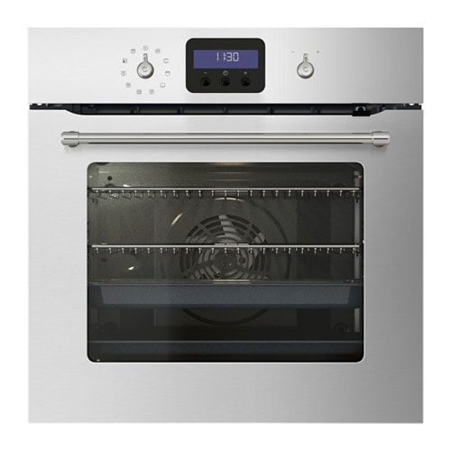 Gr nsl s forced air oven w pyrolytic funct stainless steel for Who makes ikea microwaves