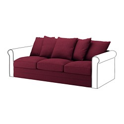 IKEA GRÖNLID 3 Seat Section 10 Year Guarantee. Read About The Terms In The