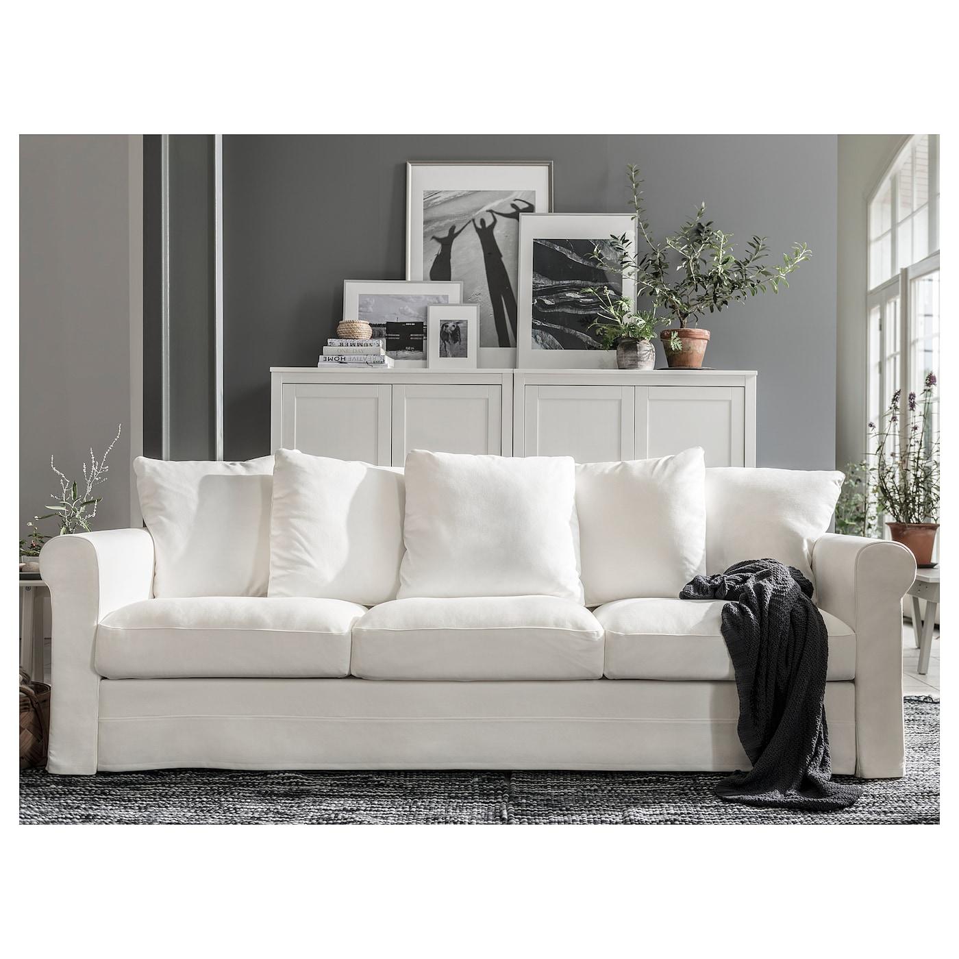 Gr 214 Nlid 3 Seat Sofa Inseros White Ikea