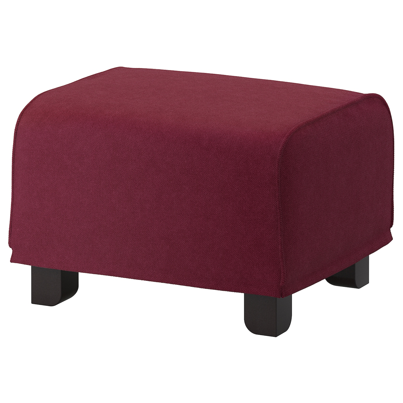 IKEA GRÖNLID footstool The curved and steady legs are made of solid birch.