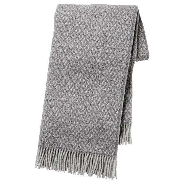 GRÅFIBBLA throw grey 200 cm 150 cm