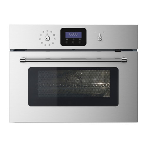 Gr nsl s microwave combi with forced air ikea for Who makes ikea microwaves
