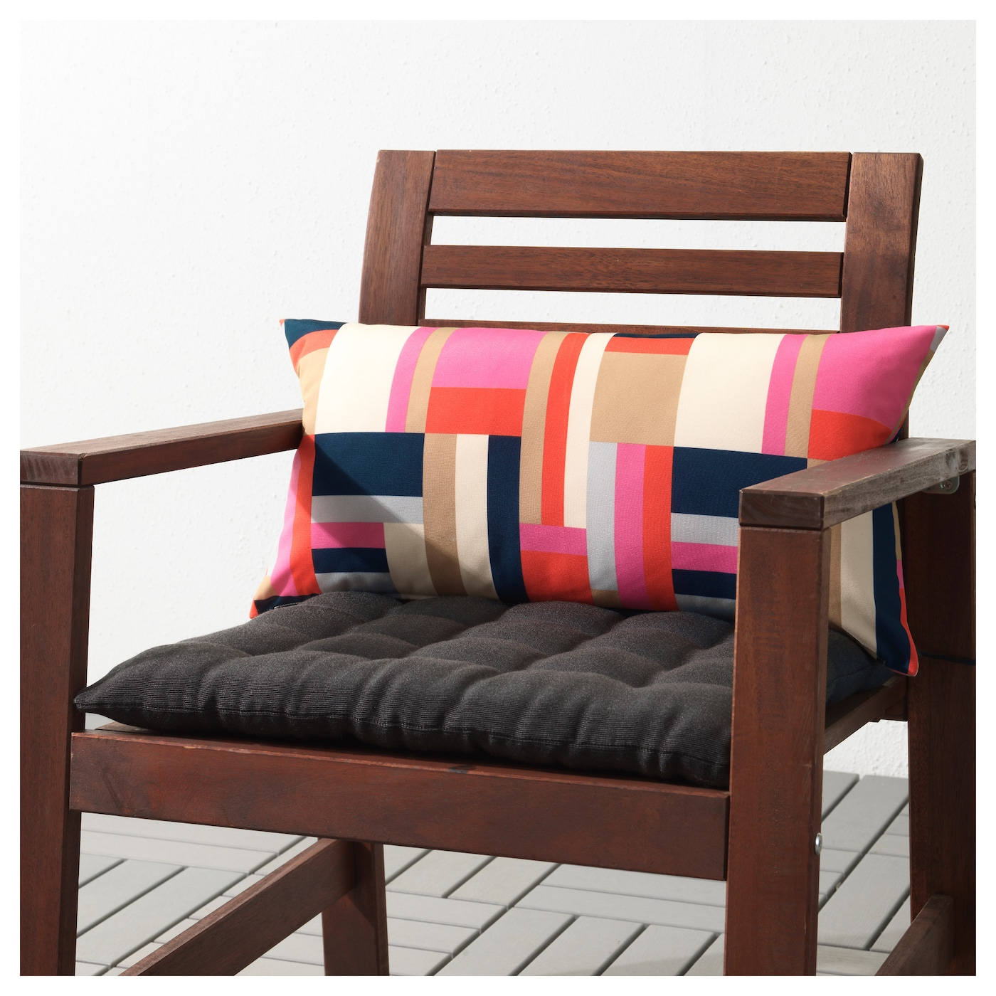 gren cushion outdoor multicolour 59 x 30 cm ikea. Black Bedroom Furniture Sets. Home Design Ideas