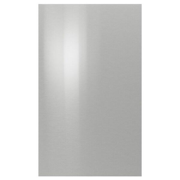 GREVSTA door stainless steel 59.7 cm 100.0 cm 60.0 cm 99.7 cm 1.8 cm