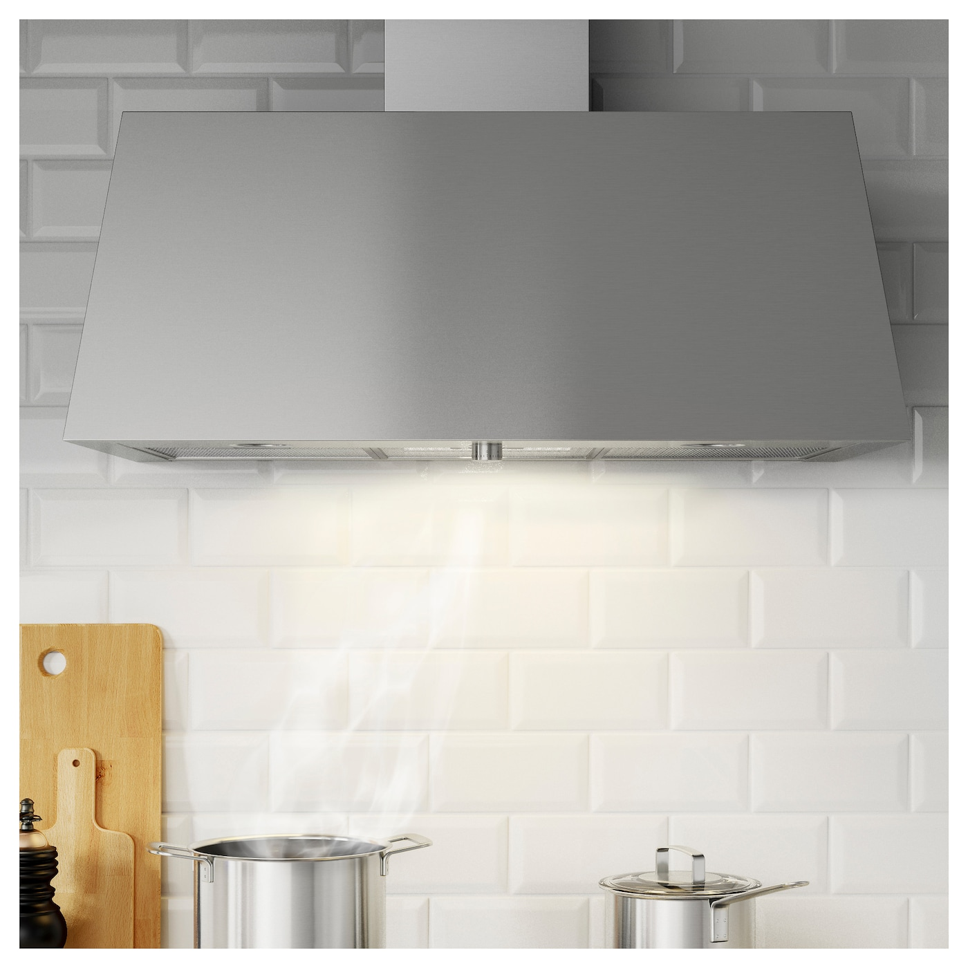 IKEA GRILJERA wall mounted extractor hood