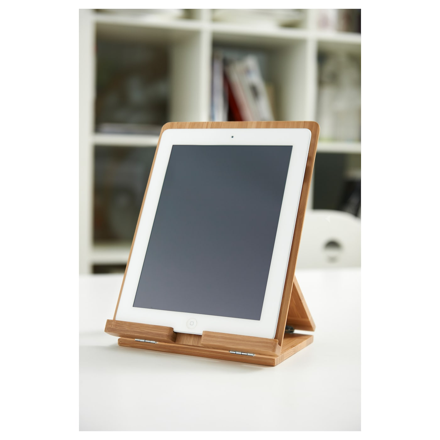 Grimar holder for tablet bamboo ikea for Jardin tablet uses