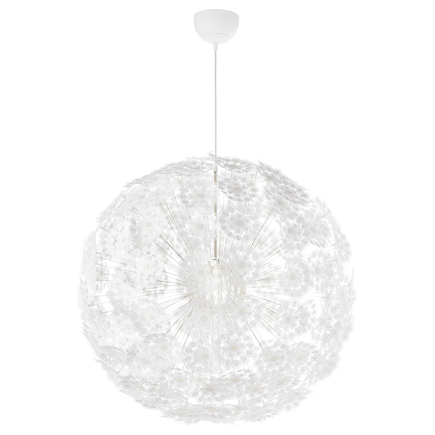 Ikea GrimsÅs Pendant Lamp Gives Decorative Patterns On The Ceiling And Wall