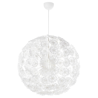 white, Pendant lamp shade, 45 cm IKEA