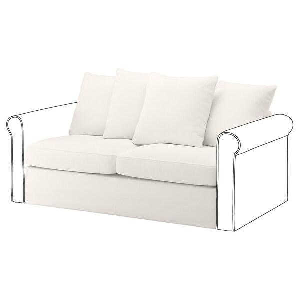 GRÖNLID 2-seat sofa-bed section, Inseros white