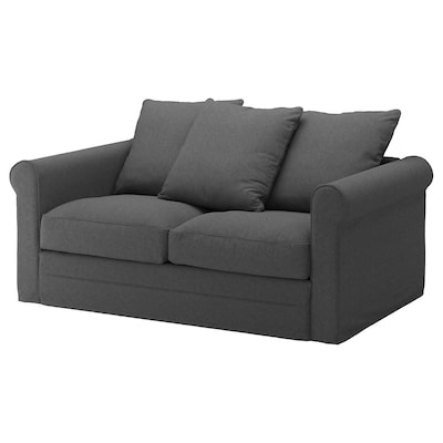 GRÖNLID 2-seat sofa, Tallmyra medium grey