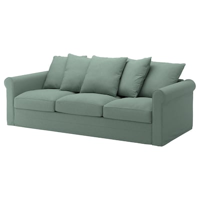 GRÖNLID 3-seat sofa, Tallmyra light green