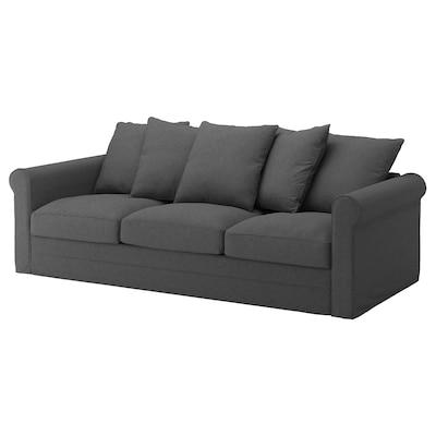 GRÖNLID 3-seat sofa, Tallmyra medium grey