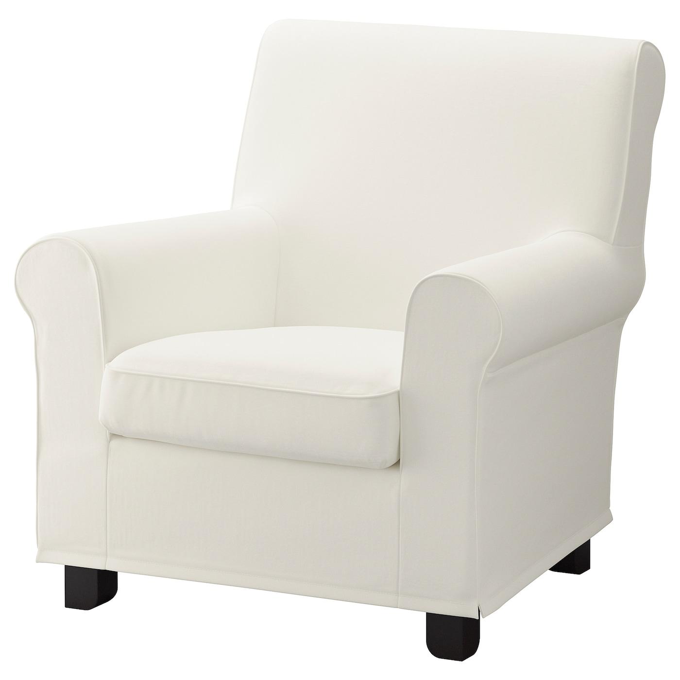 GRÖNLID Inseros white, Armchair - IKEA