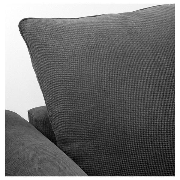 GRÖNLID Corner sofa, 4-seat, with open end/Tallmyra medium grey