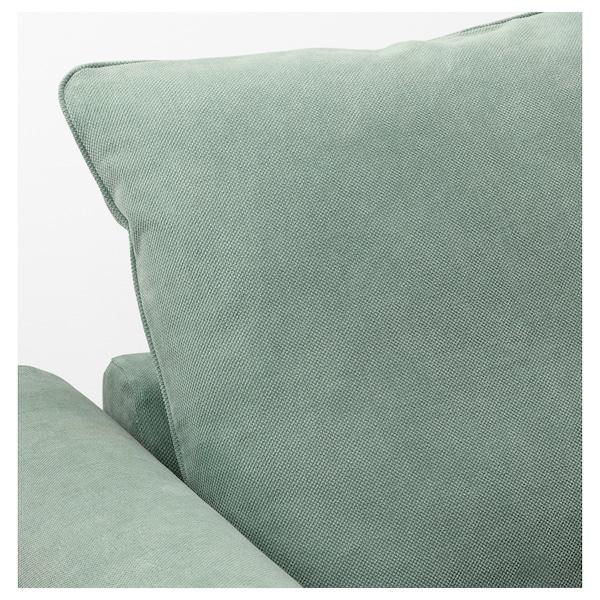 GRÖNLID Corner sofa, 5-seat, Tallmyra light green