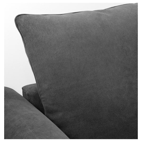 GRÖNLID Corner sofa, 5-seat, Tallmyra medium grey