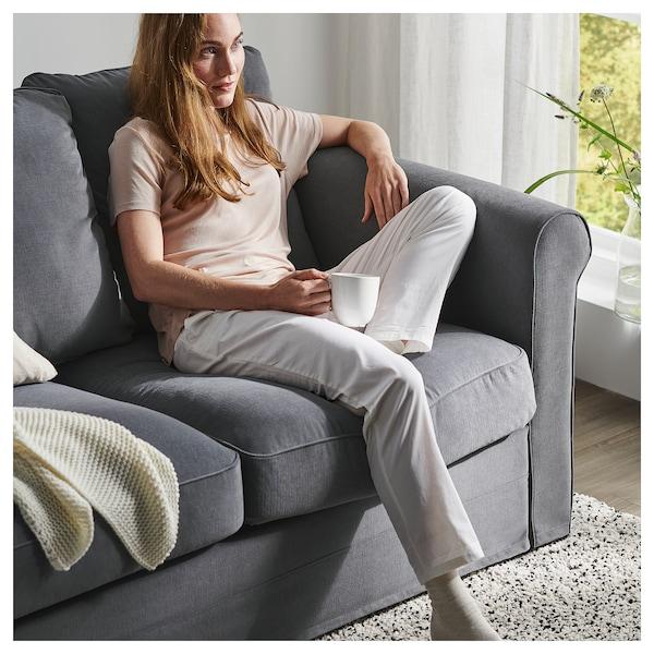 GRÖNLID Corner sofa, 5-seat, with chaise longue/Tallmyra medium grey