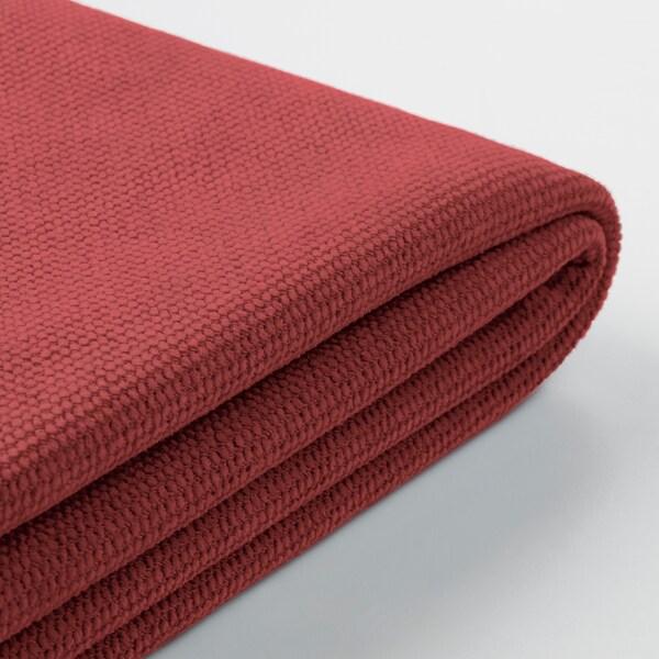 GRÖNLID Cover for armchair, Tallmyra light red