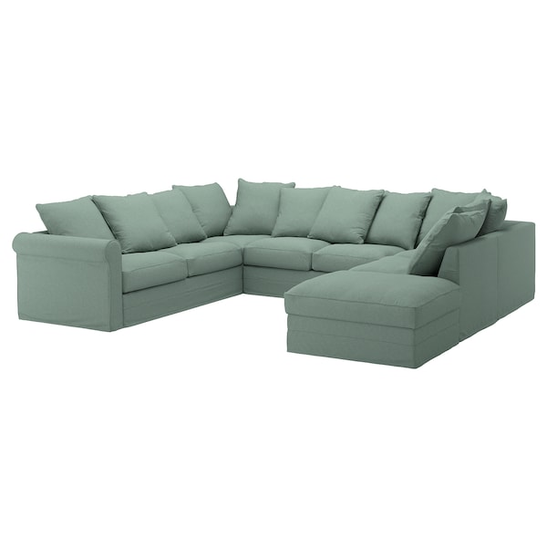 Gr 214 Nlid Cover For U Shaped Sofa 6 Seat With Open End