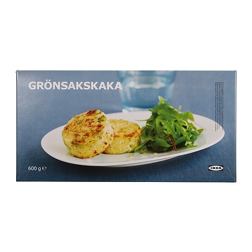 GRÖNSAKSKAKA Vegetable medallion, frozen IKEA A ready-made, potato-based dish with broccoli, leek, onions and cheese.