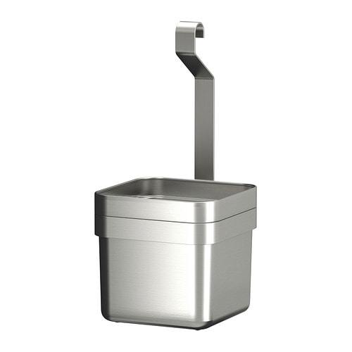 GRUNDTAL Container IKEA Multifunctional; keeps kitchen utensils or herbs within easy reach, can also be used for flowers.