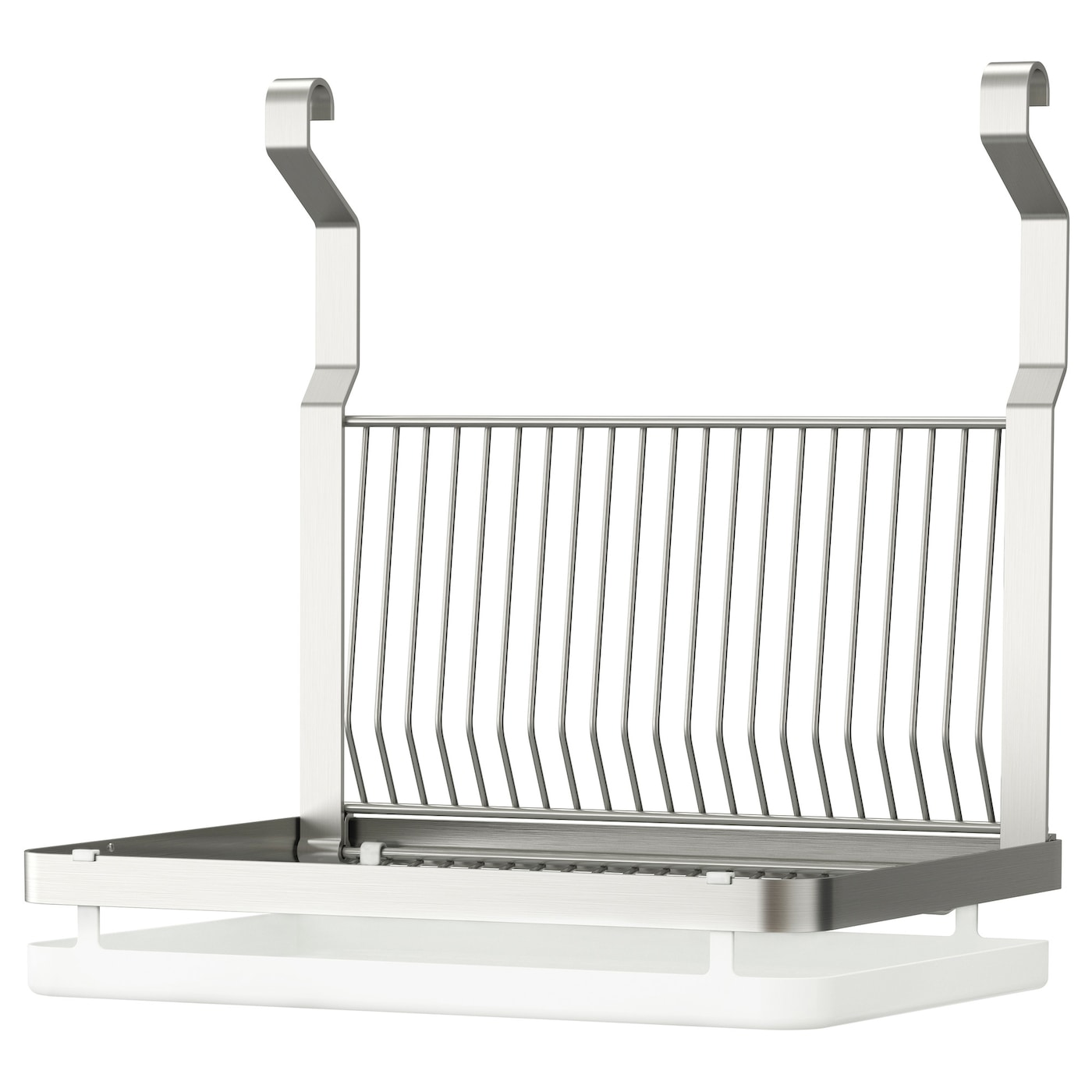 IKEA GRUNDTAL dish drainer Can be hung on GRUNDTAL rail to free up space on the worktop.