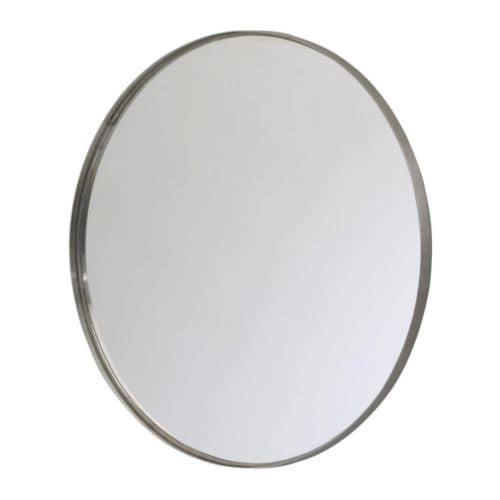 grundtal mirror stainless steel 60 cm ikea. Black Bedroom Furniture Sets. Home Design Ideas