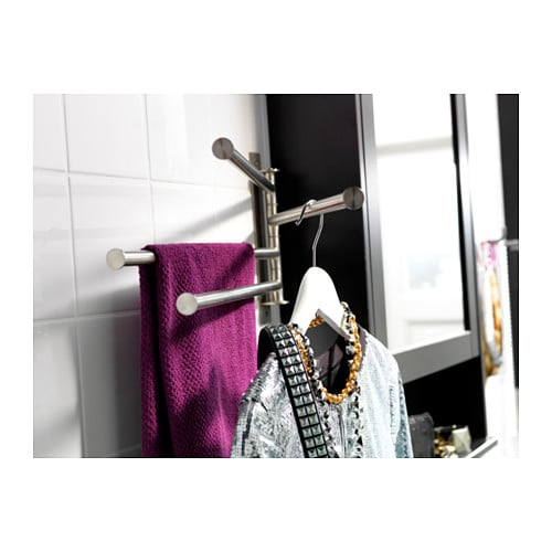 IKEA GRUNDTAL towel holder 4 bars Fully swivelling to the left or right.