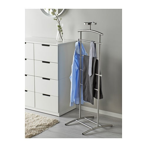 grundtal valet stand stainless steel 128 cm ikea. Black Bedroom Furniture Sets. Home Design Ideas