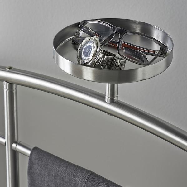 GRUNDTAL valet stand stainless steel 46 cm 46 cm 128 cm
