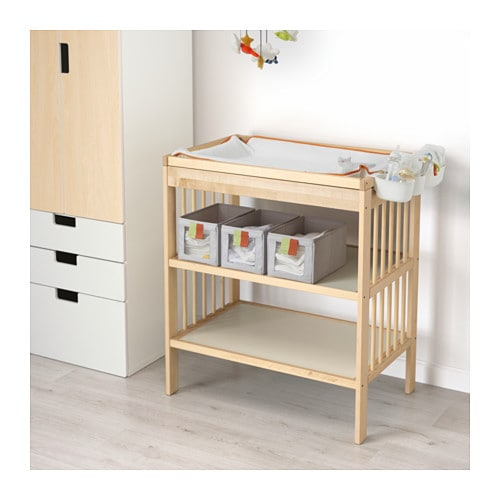 gulliver changing table birch ikea. Black Bedroom Furniture Sets. Home Design Ideas