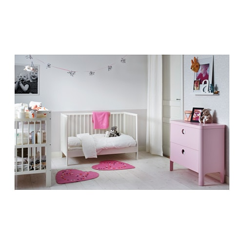 gulliver cot white 60x120 cm ikea. Black Bedroom Furniture Sets. Home Design Ideas