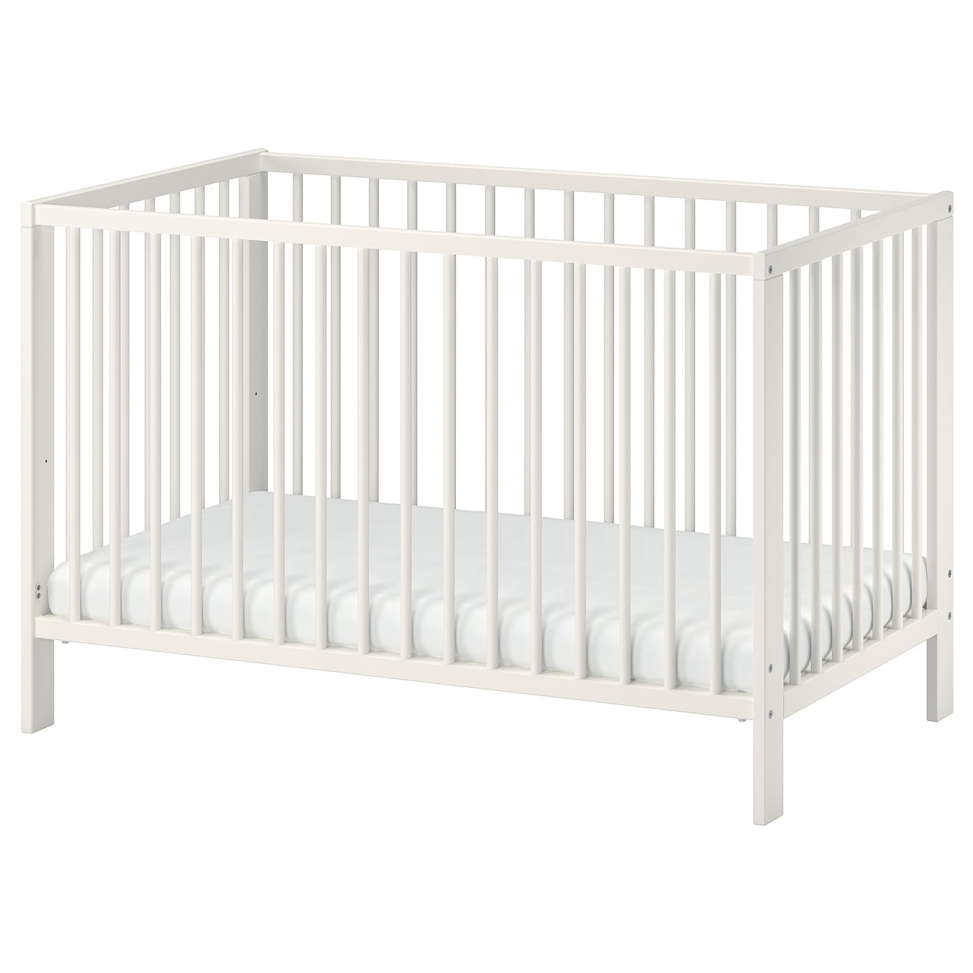Ikea Gulliver Cot The Base Can Be Placed At Two Diffe Heights