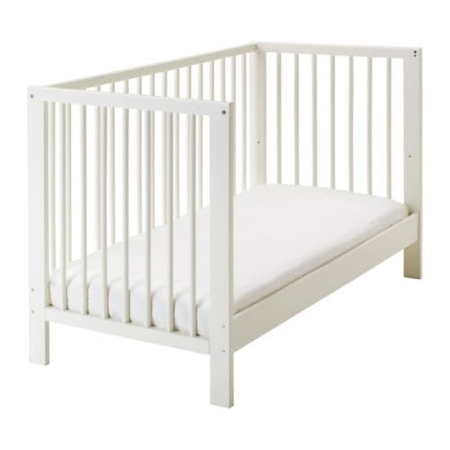 GULLIVER Cot IKEA The bed base can be placed at two different heights.