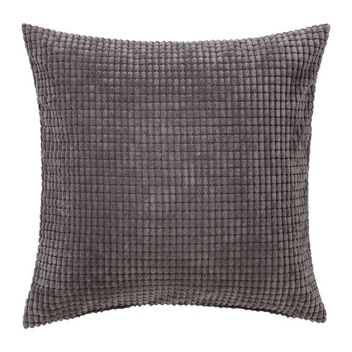 GULLKLOCKA Cushion Cover Grey 50x50 Cm IKEA