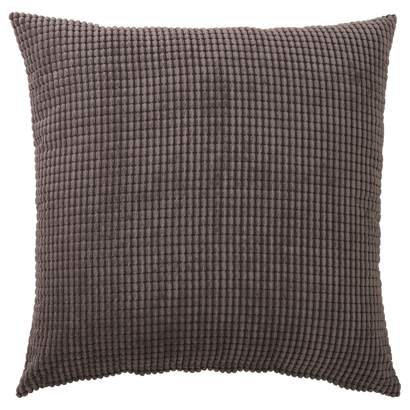 GULLKLOCKA Cushion cover Grey 65x65 cm IKEA