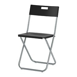 Ikea Gunde Folding Chair You Can Fold The So It Takes Less E When