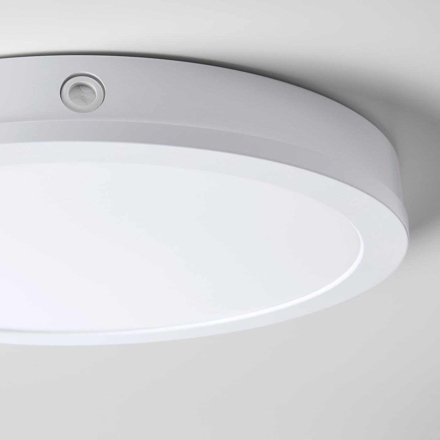 GUNNARP LED ceiling/wall lamp, white dimmable/white spectrum, 40 cm