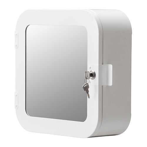 gunnern lockable cabinet white ikea. Black Bedroom Furniture Sets. Home Design Ideas