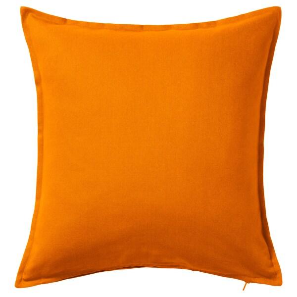 GURLI cushion cover orange 50 cm 50 cm