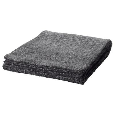 GURLI throw grey/black 180 cm 120 cm
