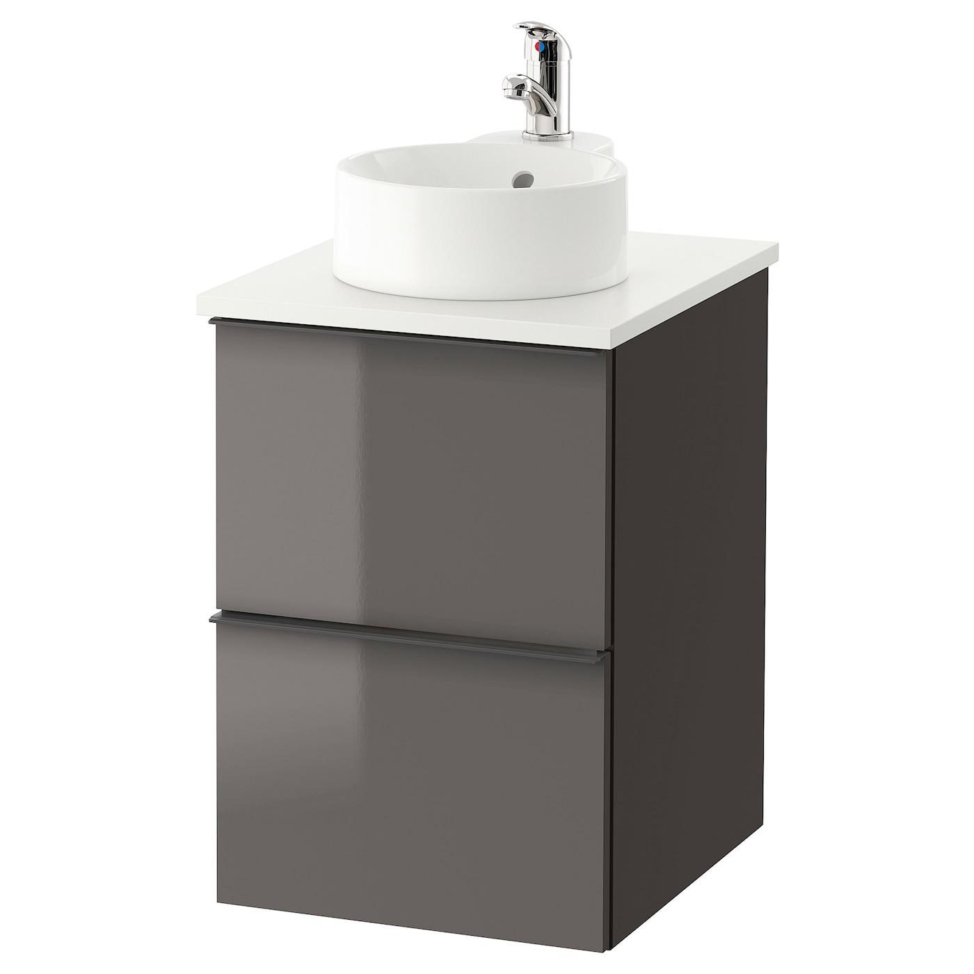 Gutviken godmorgon tolken wsh stnd w countertop 29 wash for Evier salle de bain ikea