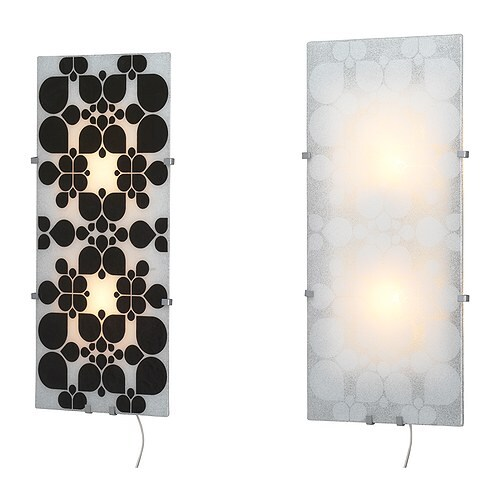 GYLLEN Panel IKEA Available in other patterns and colours; easy to change the look of your home by changing panels.