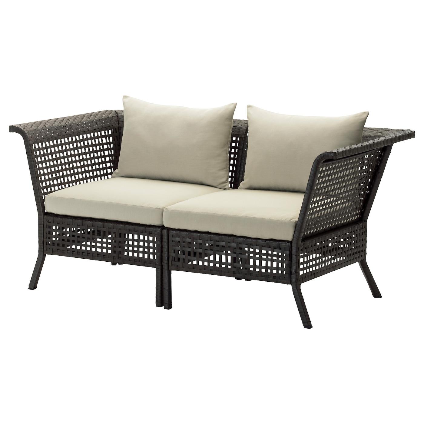 Outdoor Garden Sofas Wooden Rattan Furniture IKEA